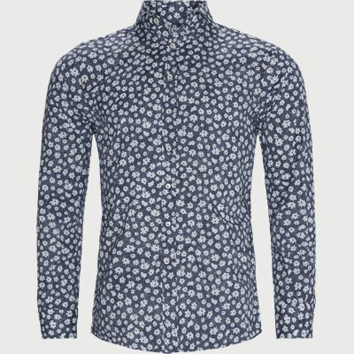 Anemone Print Skjorte Regular fit | Anemone Print Skjorte | Blå