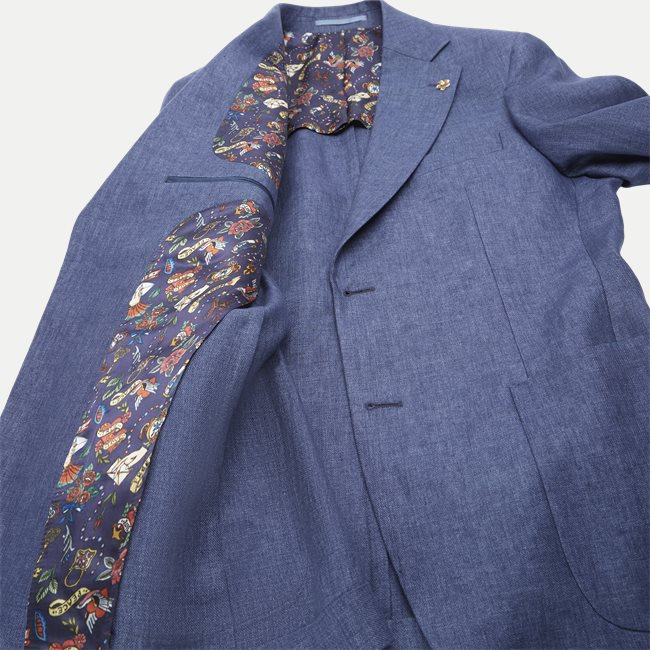 Solid Linen Blazer