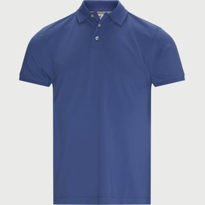 Classic Stretch Polo T-shirt Regular fit | Classic Stretch Polo T-shirt | Blå