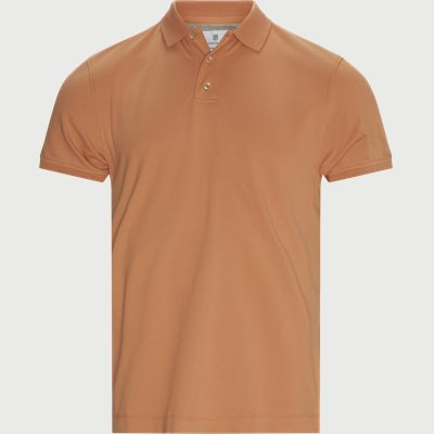 Classic Stretch Polo T-shirt Regular | Classic Stretch Polo T-shirt | Orange