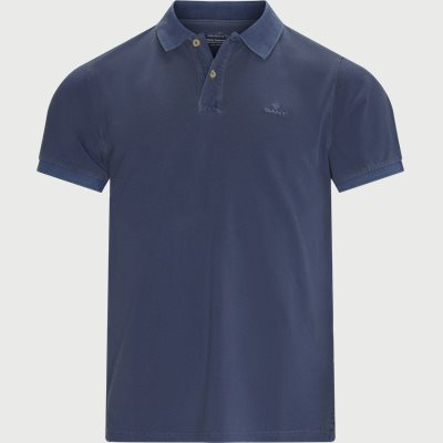 Sunfaded Polo - T-shirt Regular | Sunfaded Polo - T-shirt | Blue
