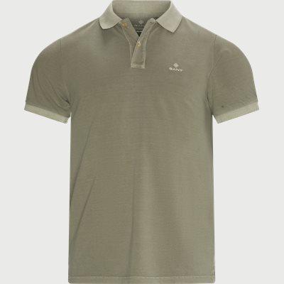 Sunfaded Polo - T-shirt Regular | Sunfaded Polo - T-shirt | Army