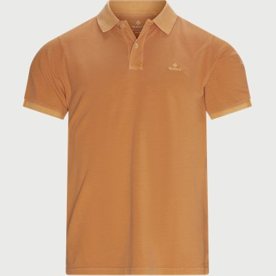 Sunfaded Polo - T-shirt Regular | Sunfaded Polo - T-shirt | Orange