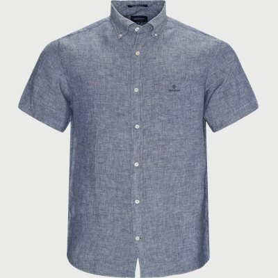 Regular fit | Kurzärmlige Hemden | Blau