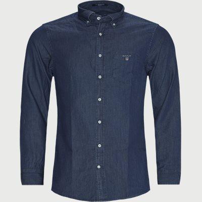 Reg Indigo Skjorte Regular fit | Reg Indigo Skjorte | Denim