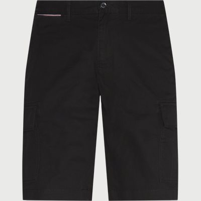 Regular fit | Shorts | Schwarz