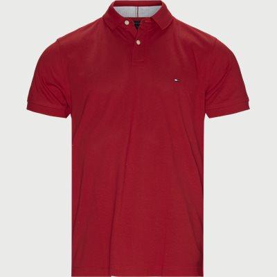Regular Polo Tee Regular fit | Regular Polo Tee | Rød