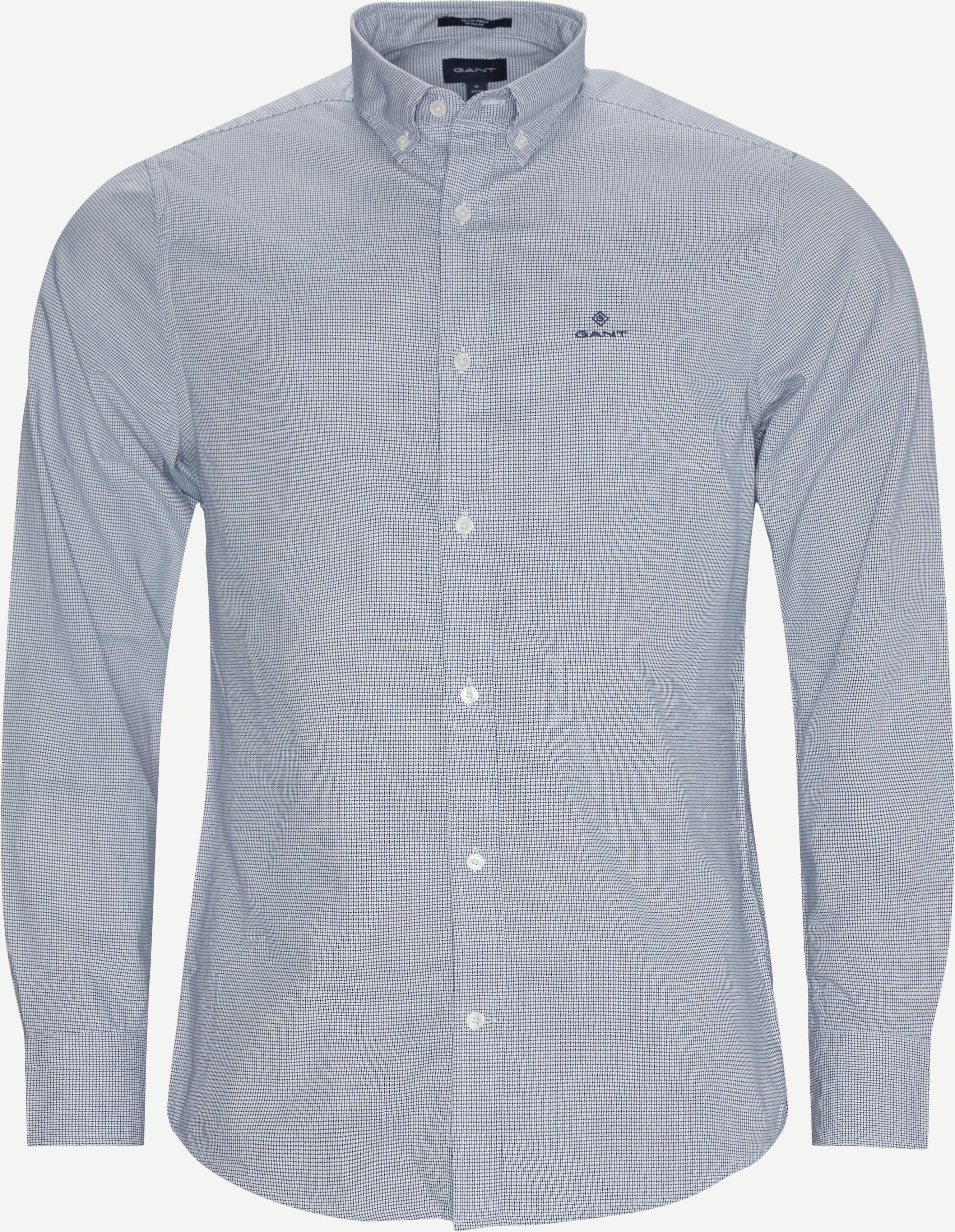 Reg Royal Oxford Skjorte - Skjortor - Regular - Blå