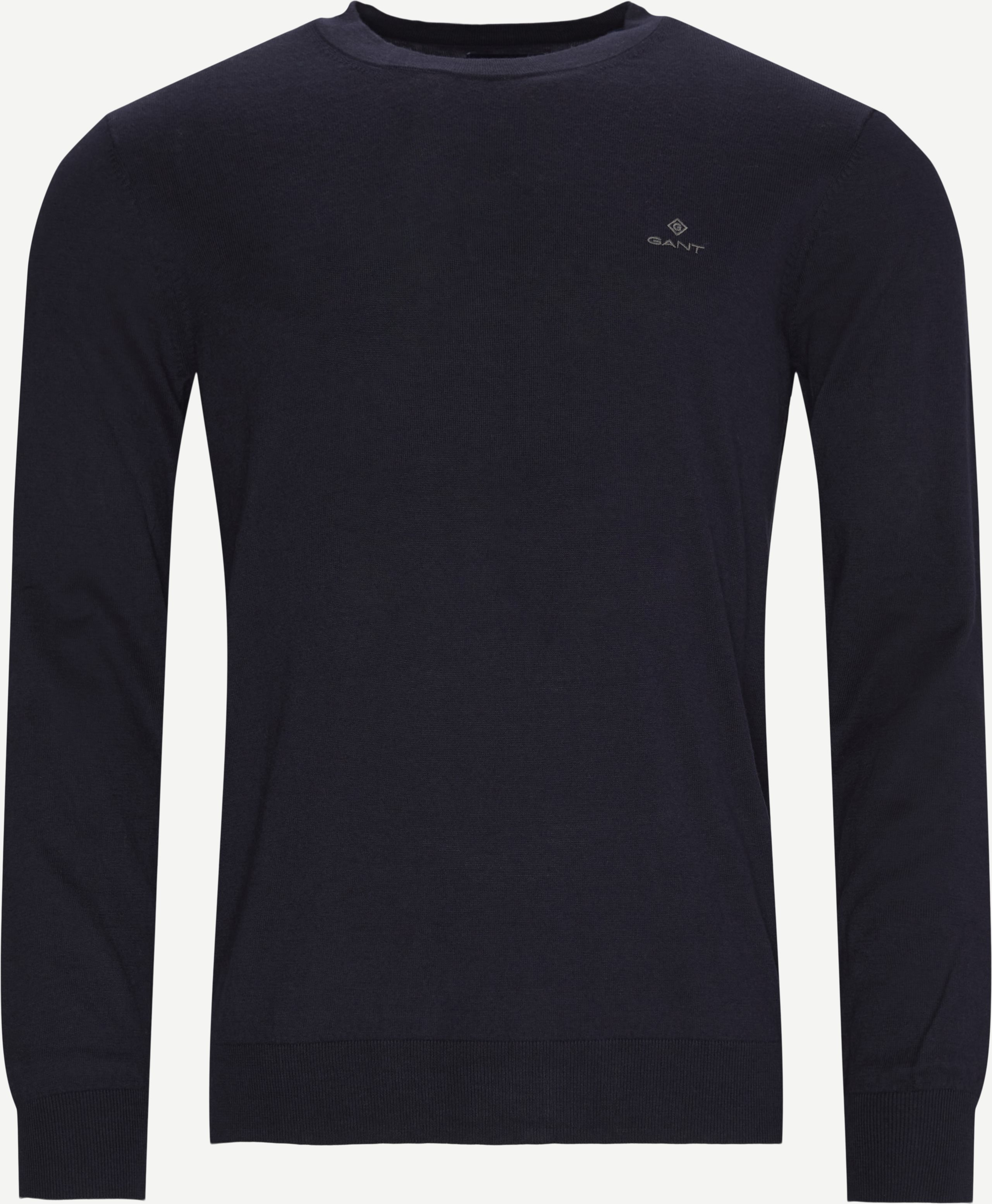 Crewneck sweatshirts - Regular - Blå