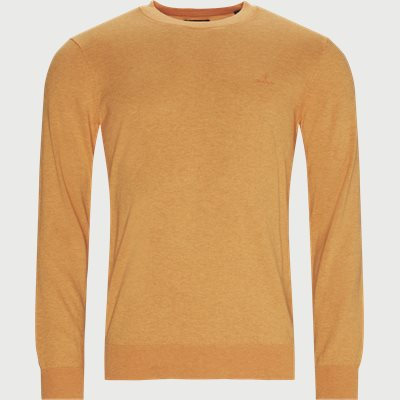 Regular | Crewneck sweatshirts | Orange