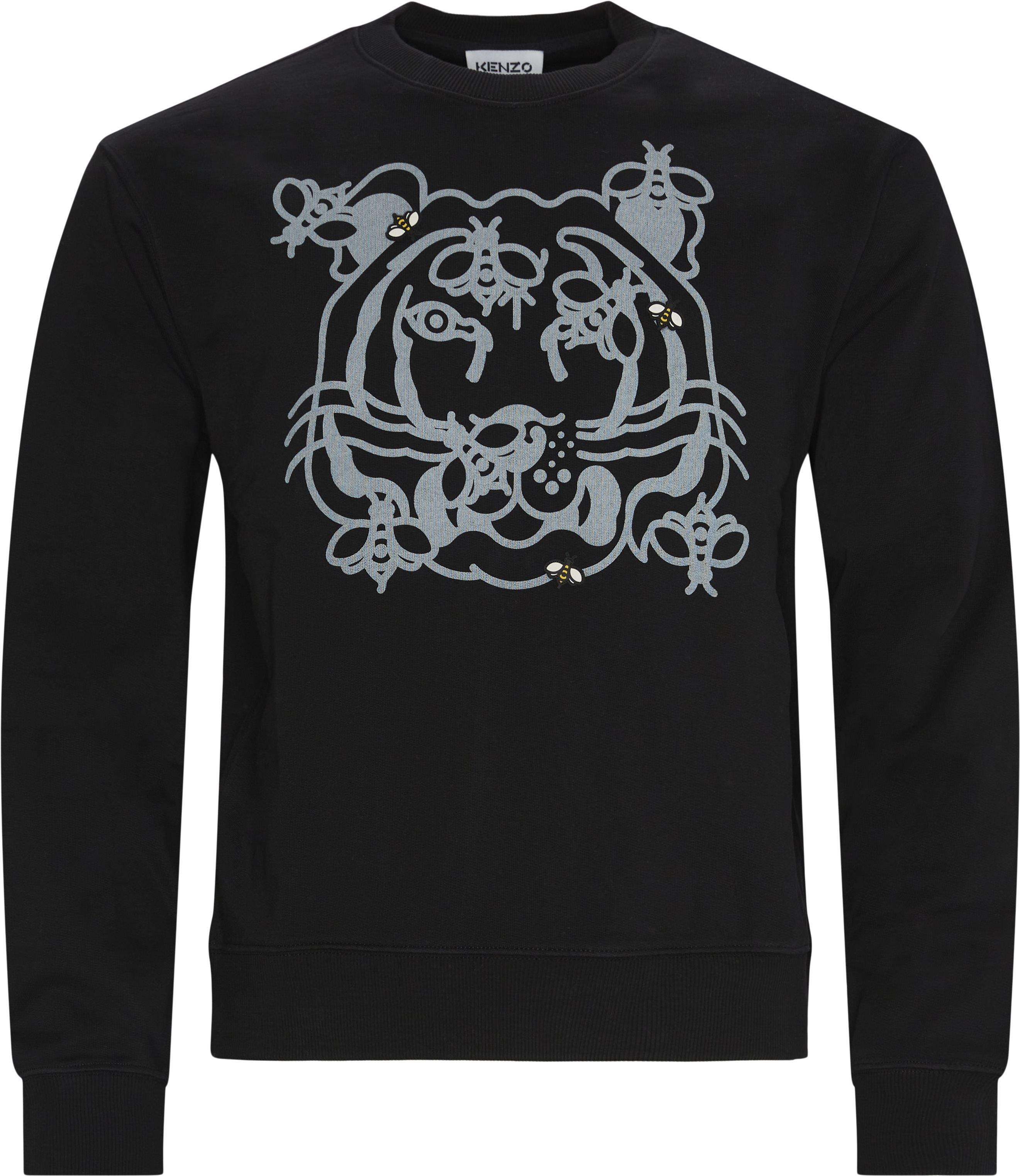 Sweatshirts - Regular fit - Black