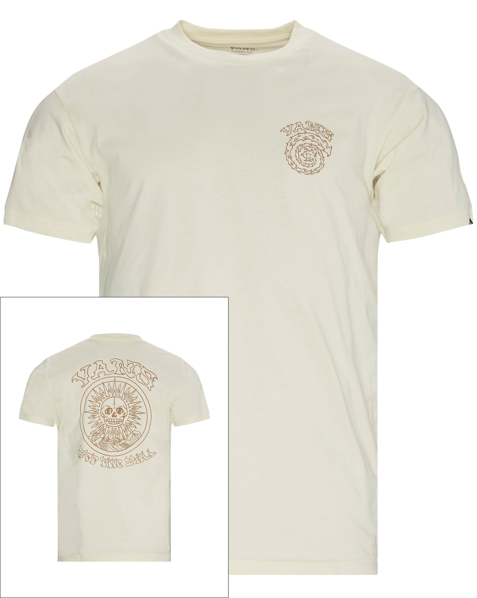 El Sole Tee - T-shirts - Regular - Sand