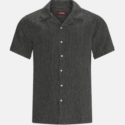 Hans SS Shirt Regular fit | Hans SS Shirt | Sort