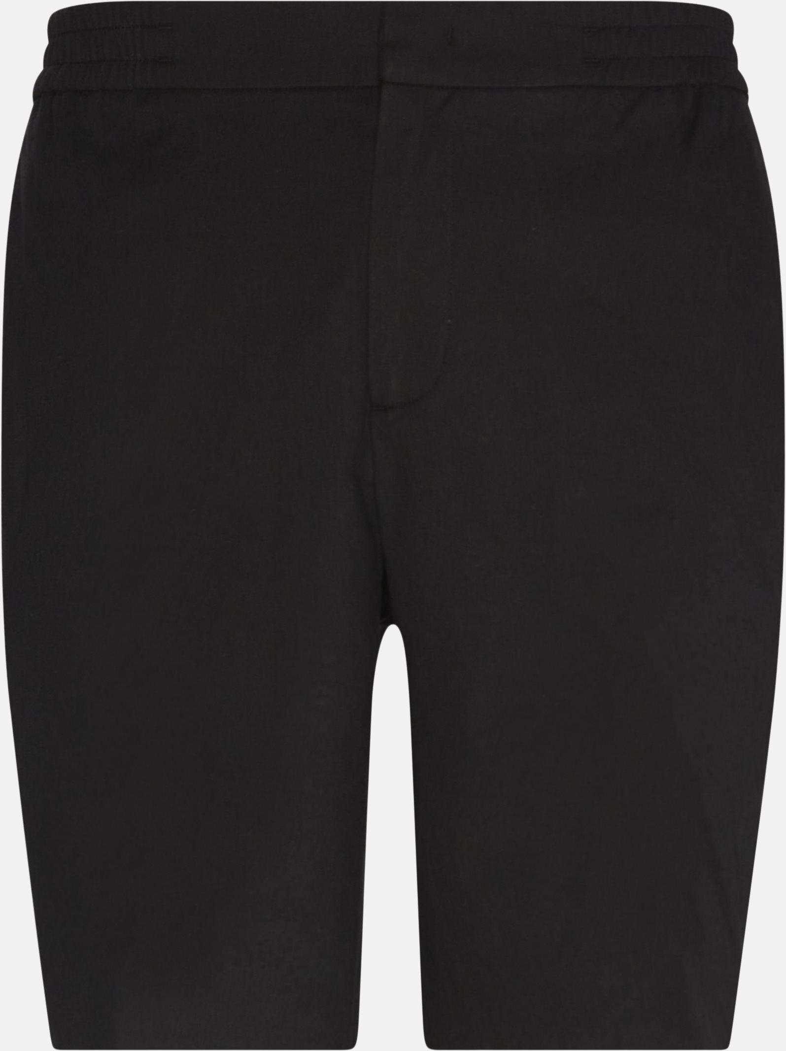 Shorts - Regular fit - Black
