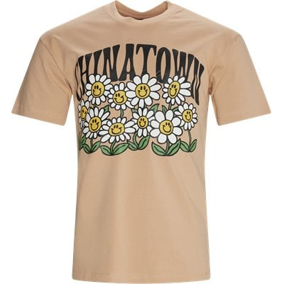Smiley Flower Tee Regular fit | Smiley Flower Tee | Orange