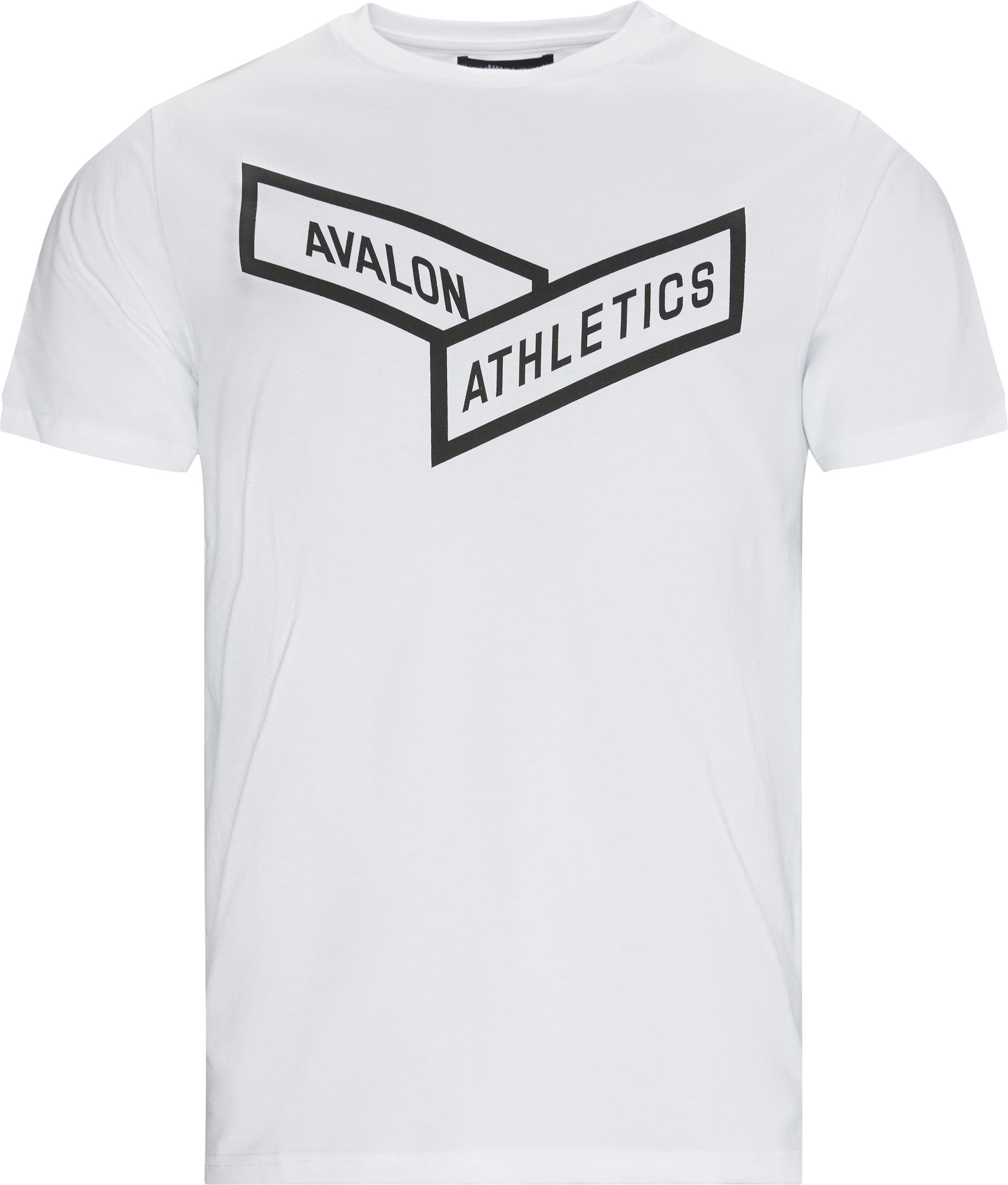 HURRICANE Logo T-shirt - T-shirts - Regular fit - Hvid