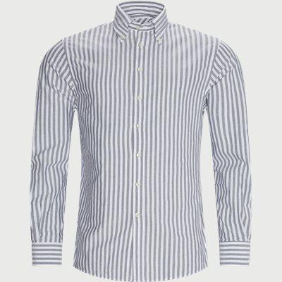 Casual fit | Skjortor | Blå