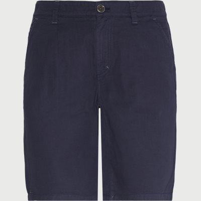 Classic Linen Shorts Regular fit | Classic Linen Shorts | Blå