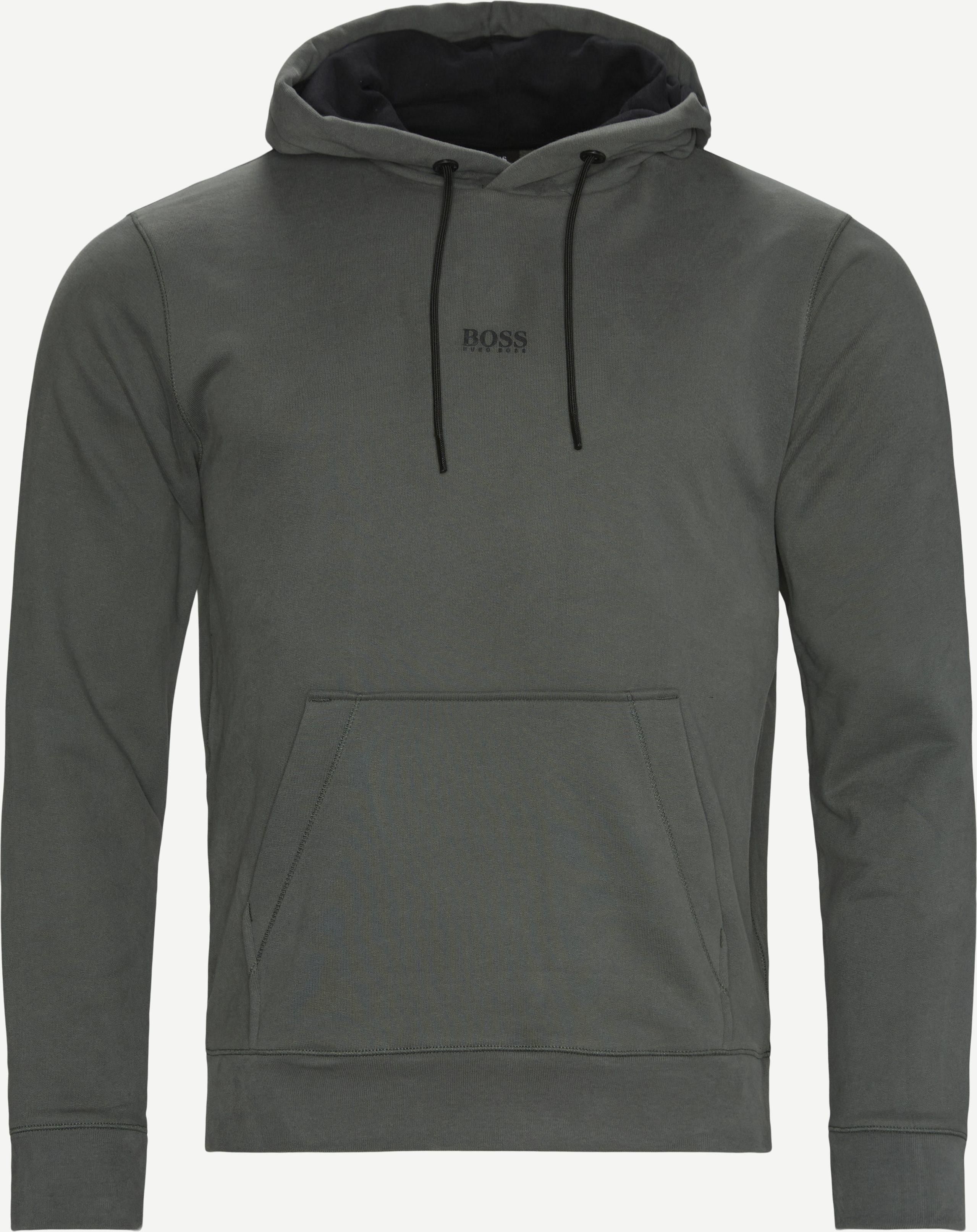 Sweatshirts - Oliv