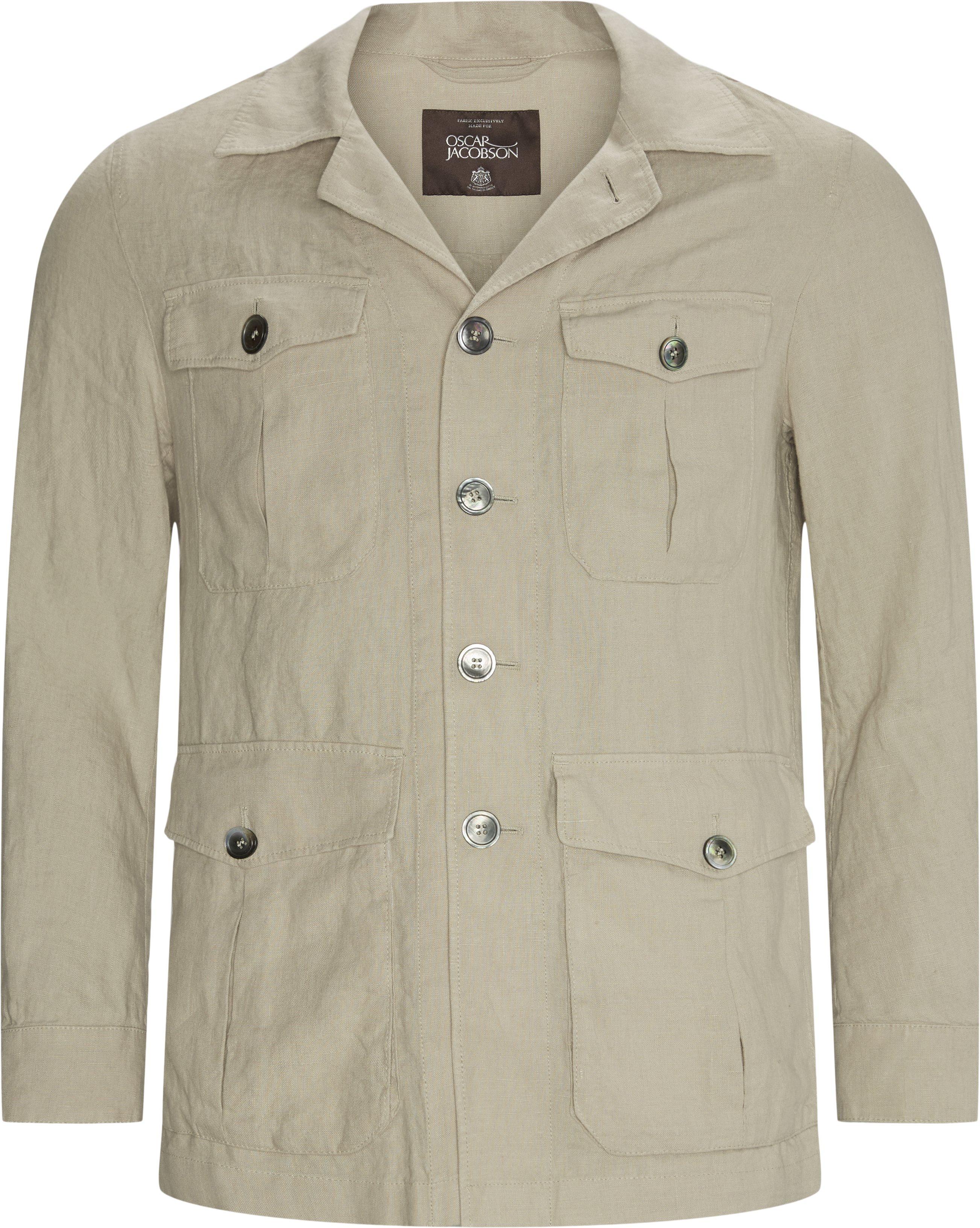 Westwood Jacket - Skjorter - Regular fit - Sand