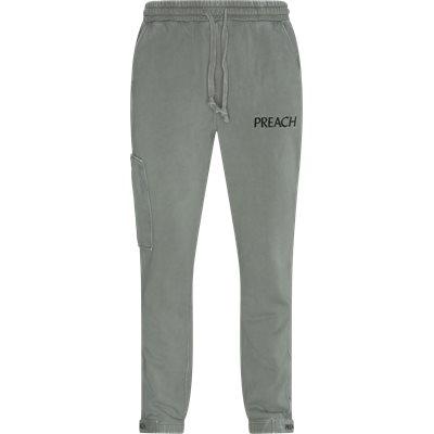 Stripe Pocket Sweatpants Relaxed fit | Stripe Pocket Sweatpants | Grøn