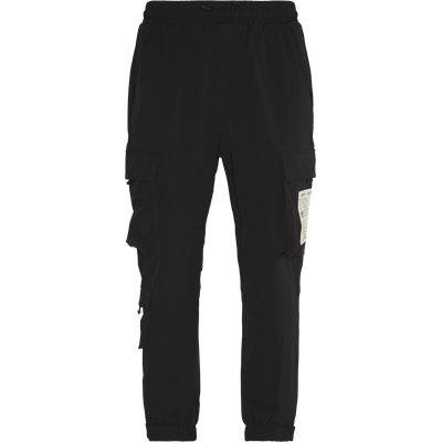 Nylon Cargo Pant Loose fit | Nylon Cargo Pant | Sort