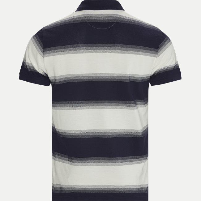 Gradient Pique Polo T-shirt