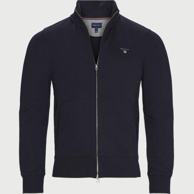 Original Zip Cardigan Regular fit | Original Zip Cardigan | Blå
