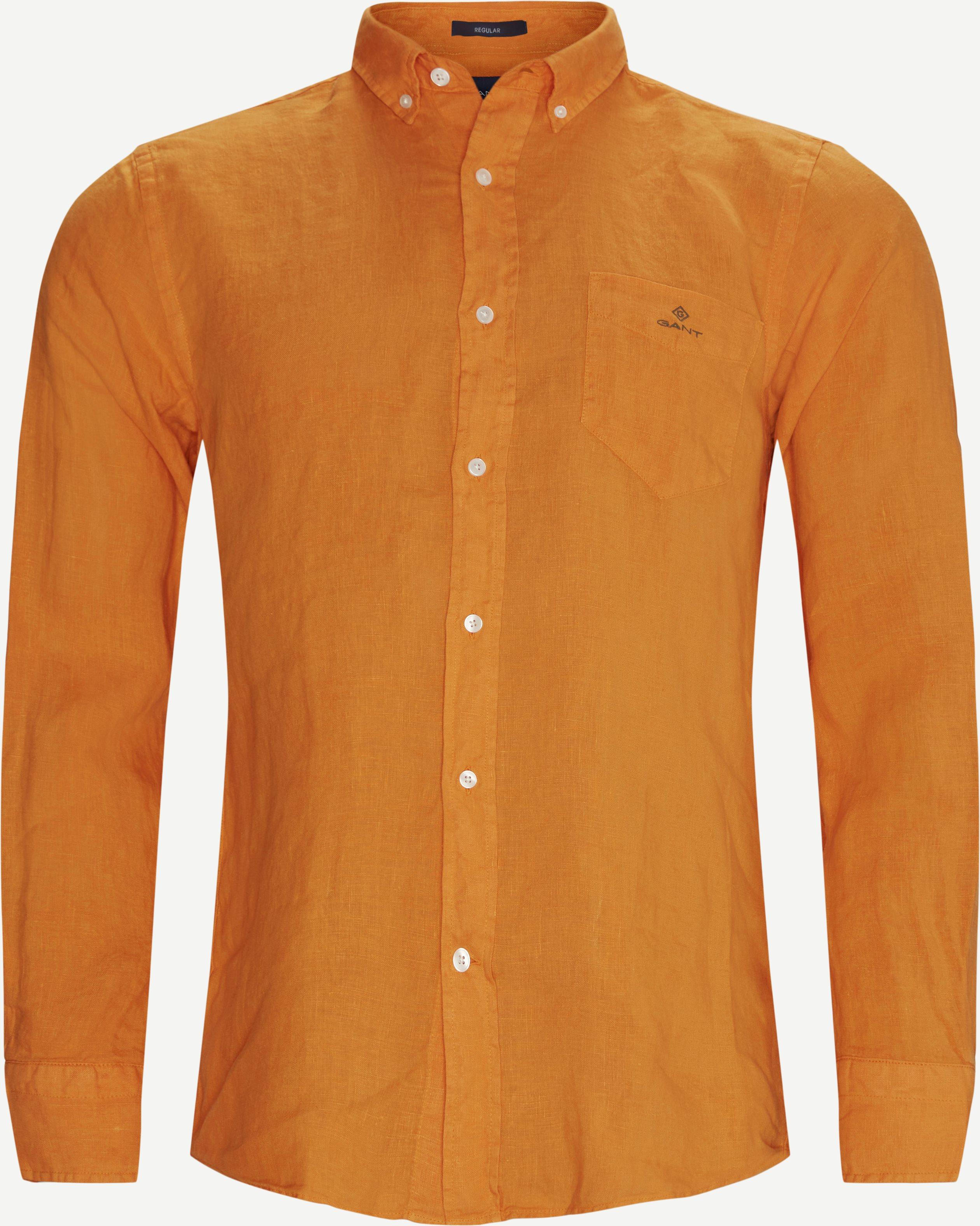 Shirts - Regular fit - Orange