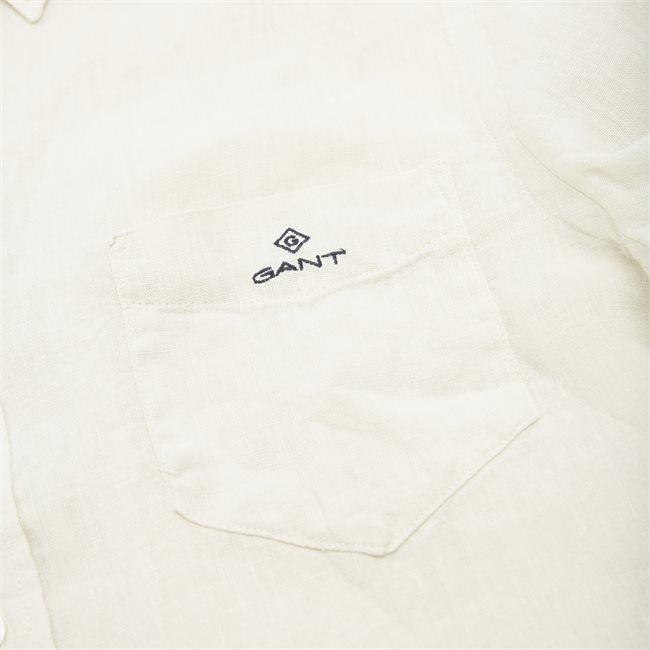 Garment Dyed Linen Skjorte