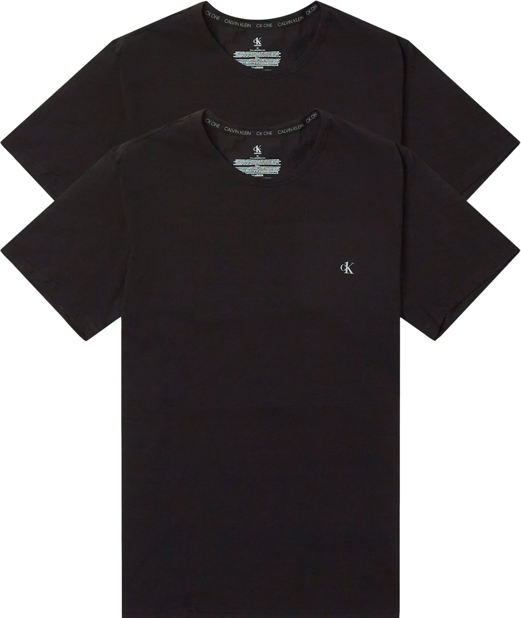 T-shirts - Regular fit - Svart