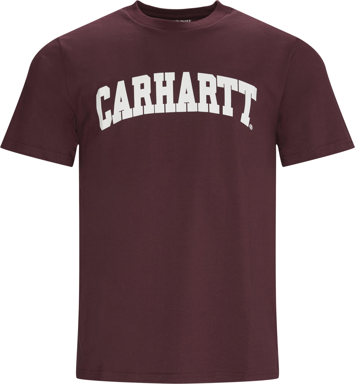 T-shirts - Regular fit - Bordeaux