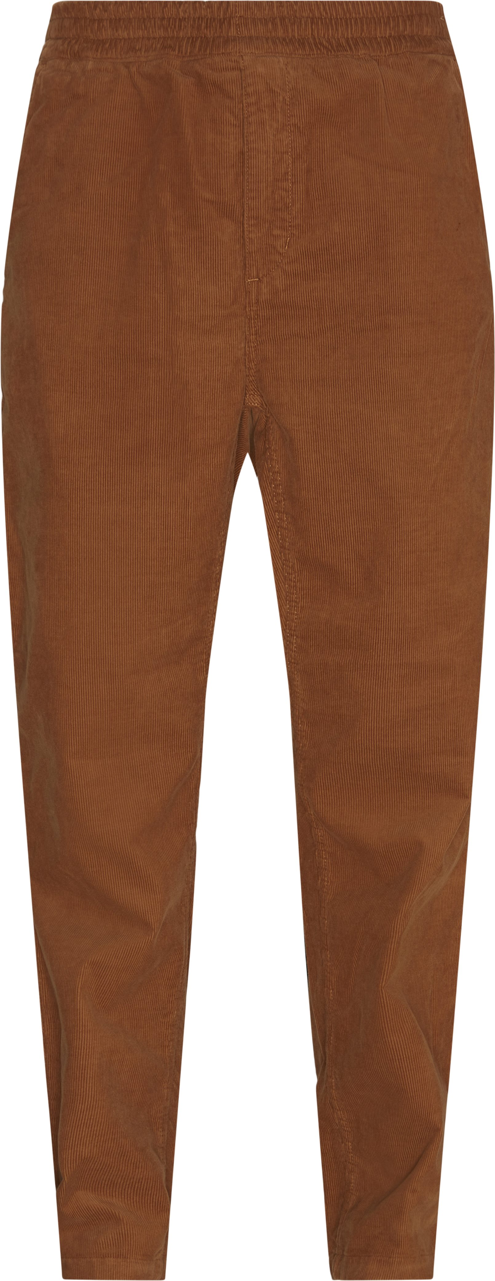 Trousers - Tapered fit - Brown