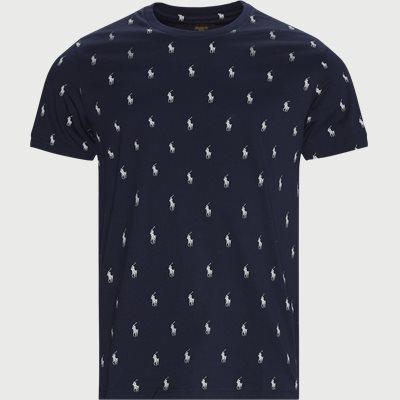 Print T-shirt Regular fit | Print T-shirt | Blå
