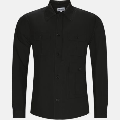 Utilitarian Overshirt Regular | Utilitarian Overshirt | Sort