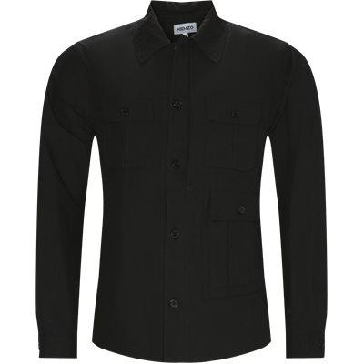 Utilitarian Overshirt Regular fit | Utilitarian Overshirt | Sort