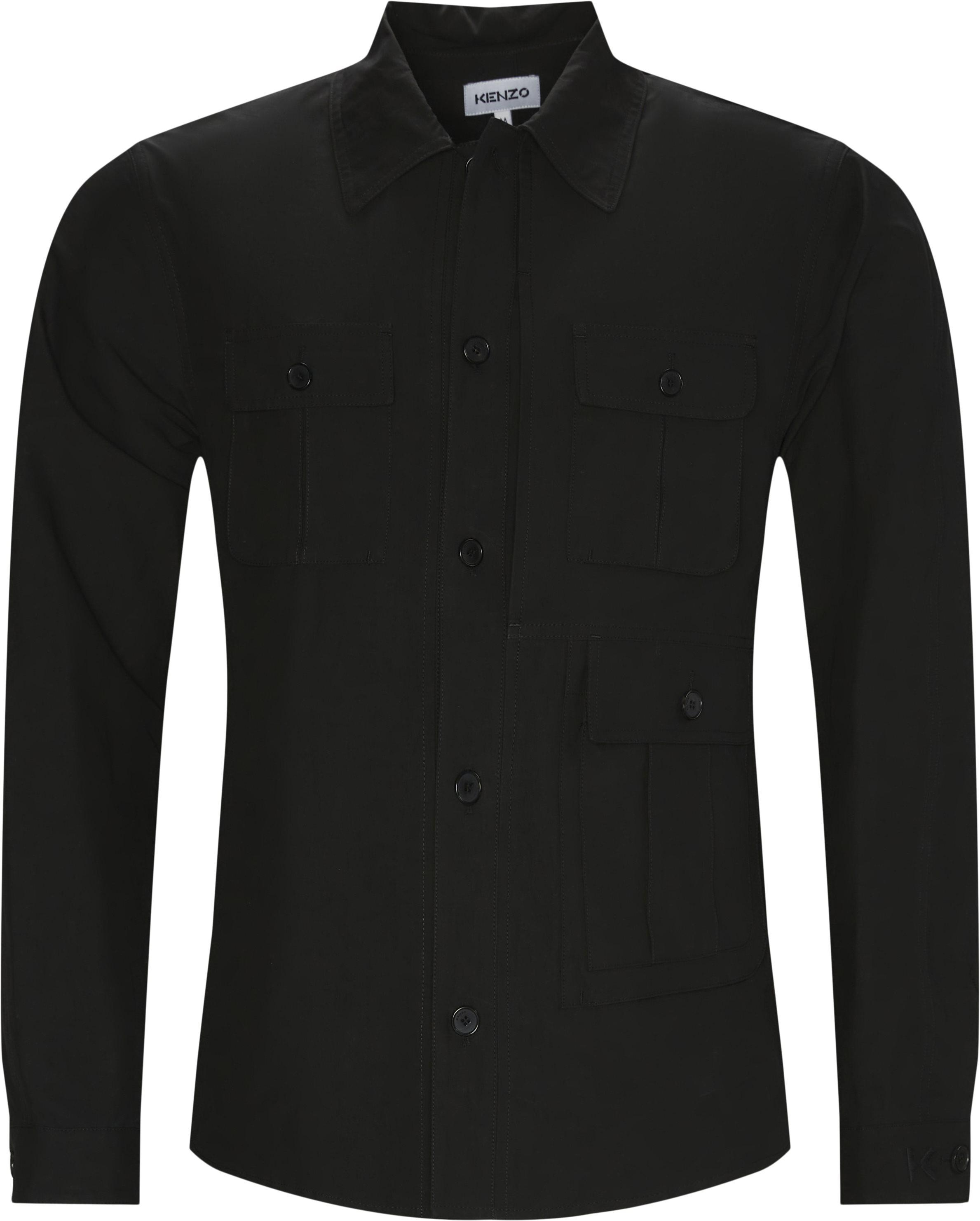 Utilitarian Overshirt - Skjorter - Regular fit - Sort