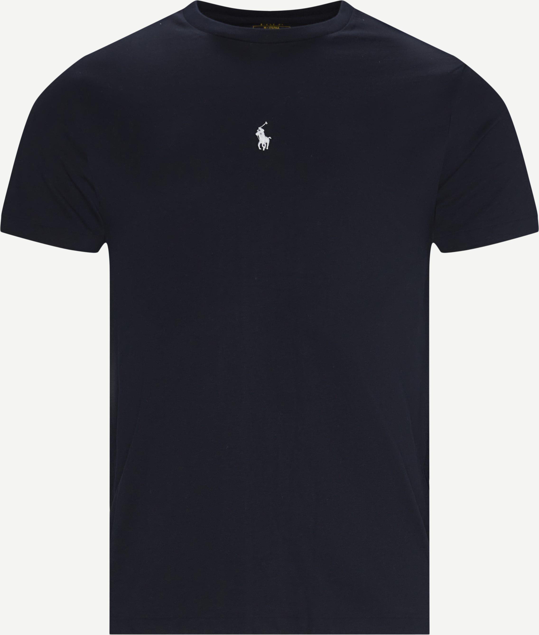 Logo T-shirt - T-shirts - Slim fit - Blå