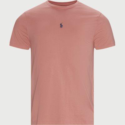 Logo T-shirt Slim fit | Logo T-shirt | Pink