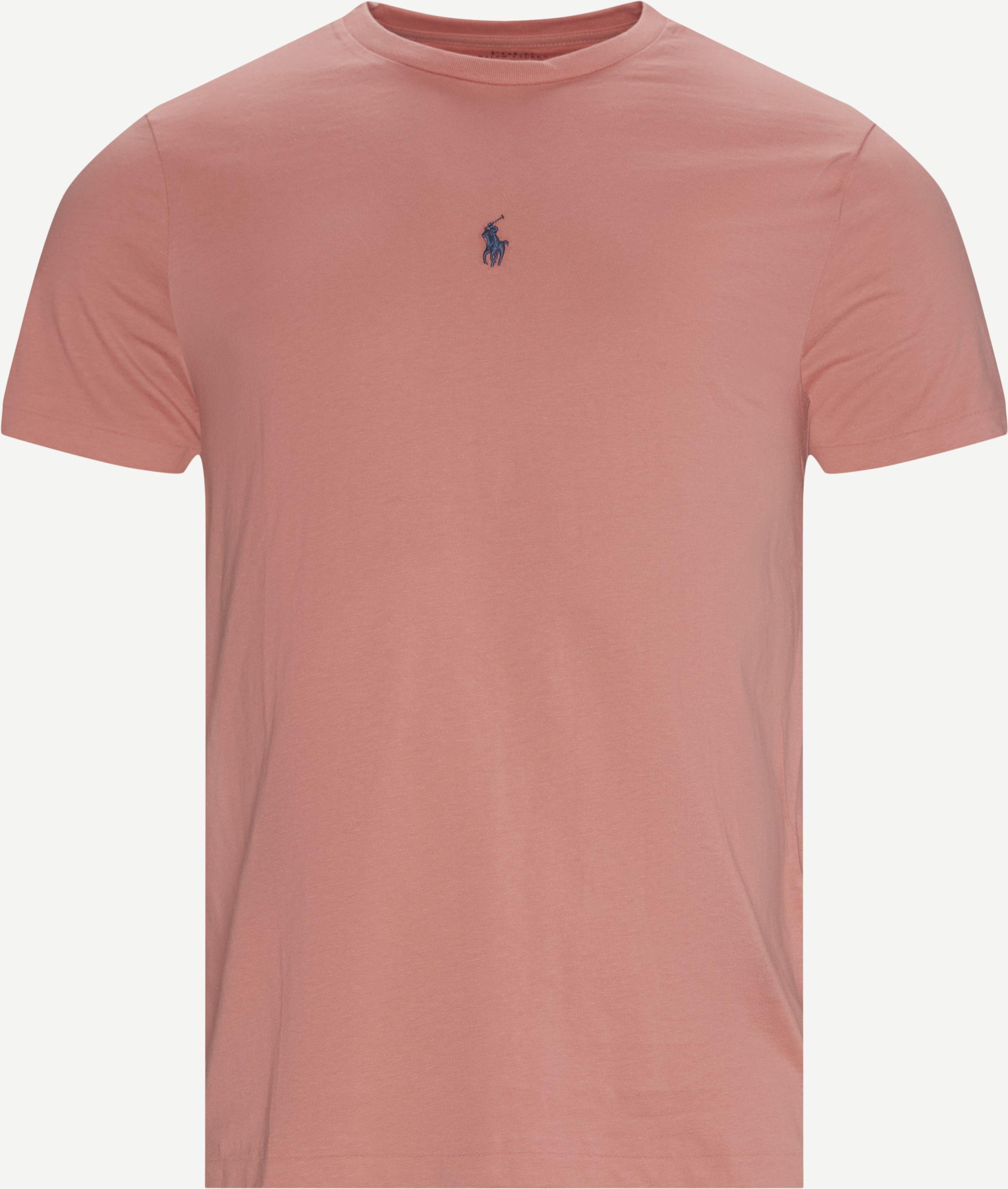 Logo T-shirt - T-shirts - Slim fit - Pink