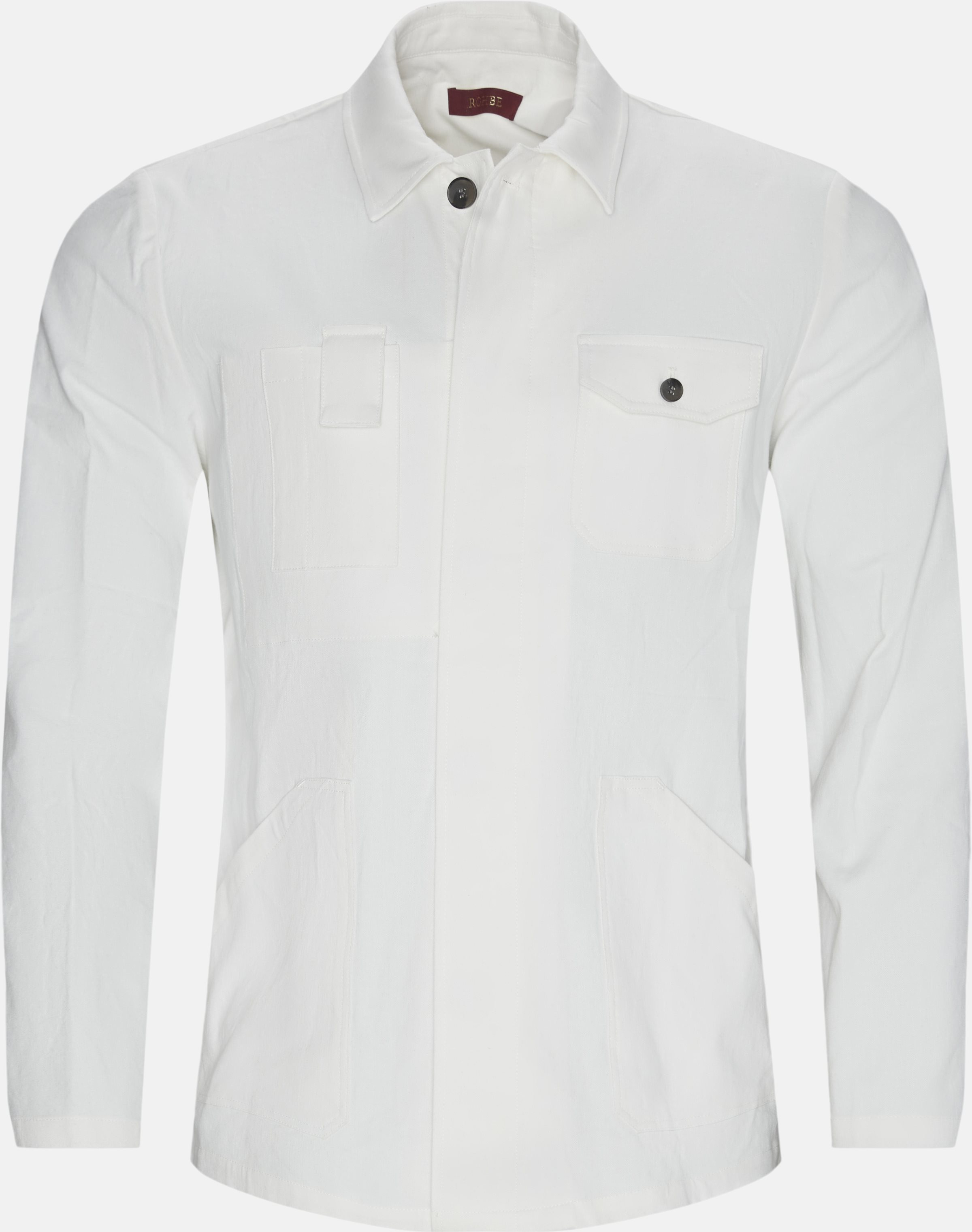 Overshirts - Regular - White