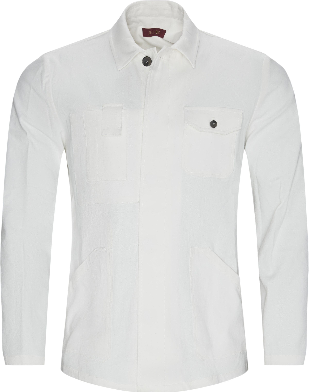 Brixton Overshirt  - Overshirts - Regular fit - Hvid