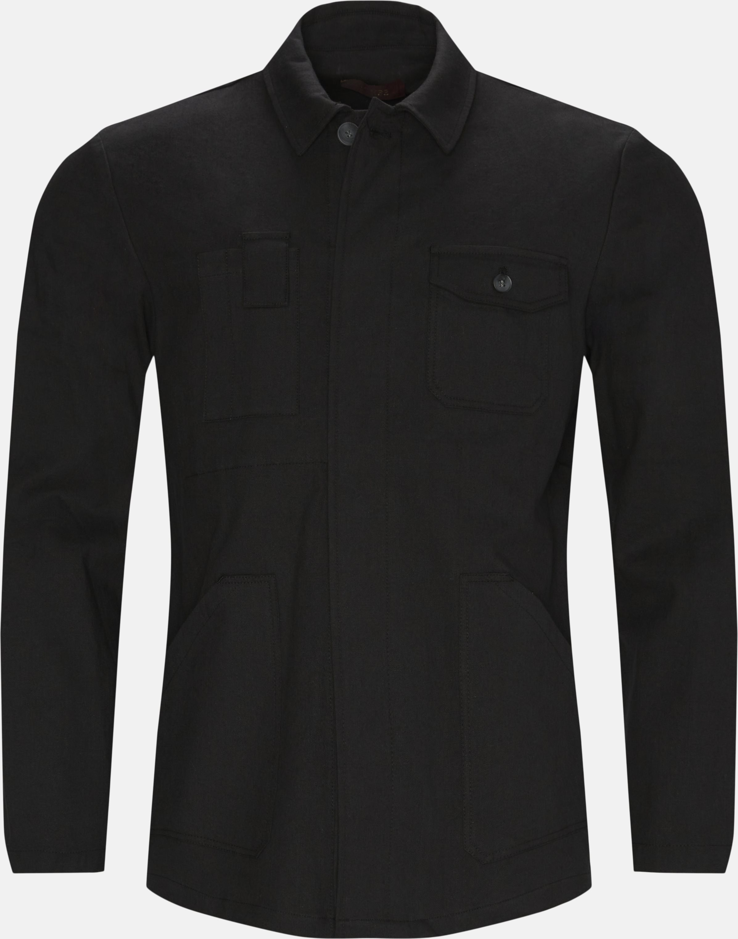 Overshirts - Regular - Black