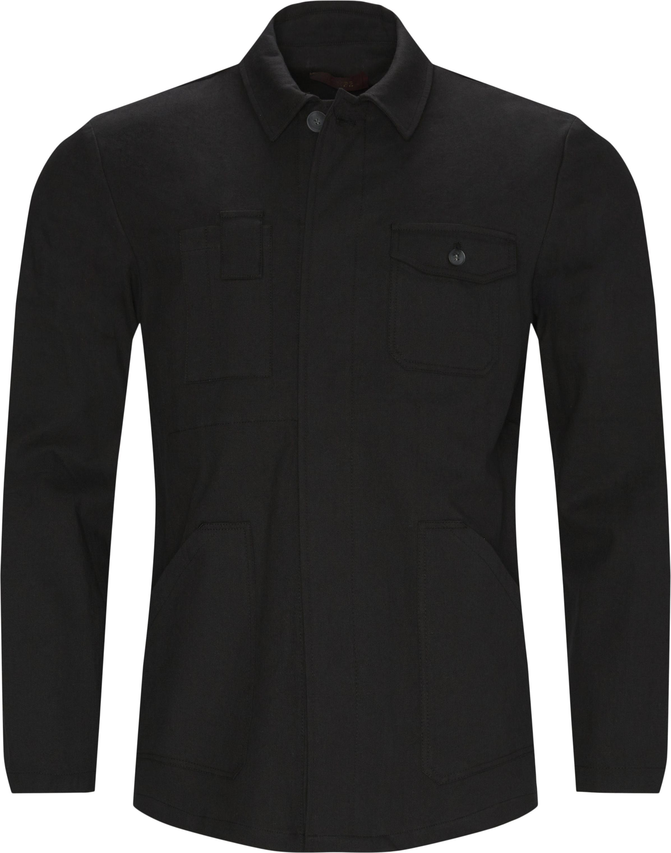 Brixton Overshirt  - Overshirts - Regular fit - Sort