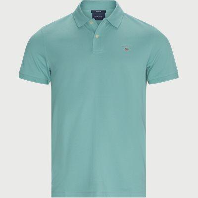 Original Pique Polo T-shirt Regular fit | Original Pique Polo T-shirt | Turkis