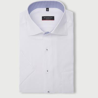 Modern fit | Kurzärmlige Hemden | Weiß