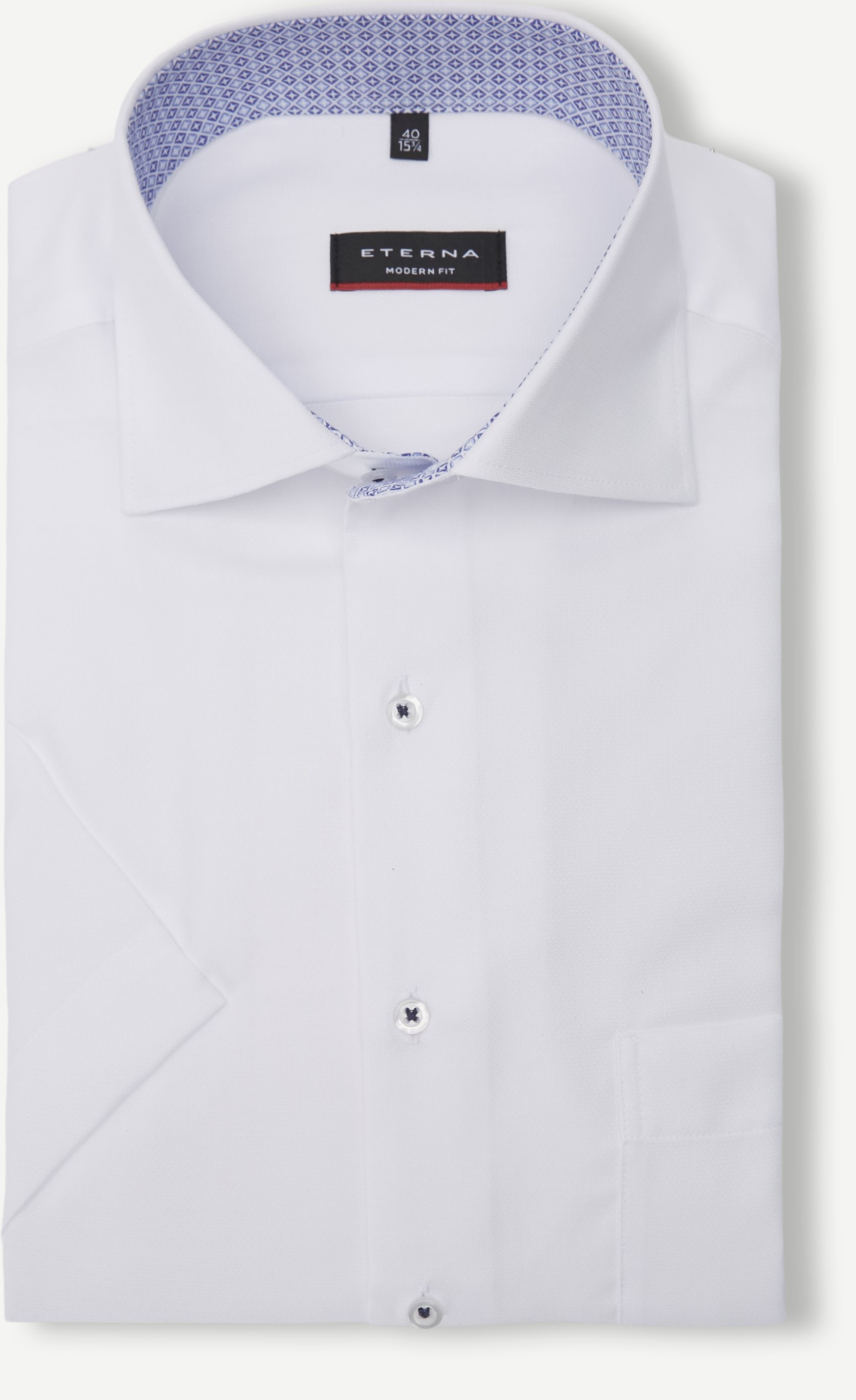 Kortärmade skjortor - Vit