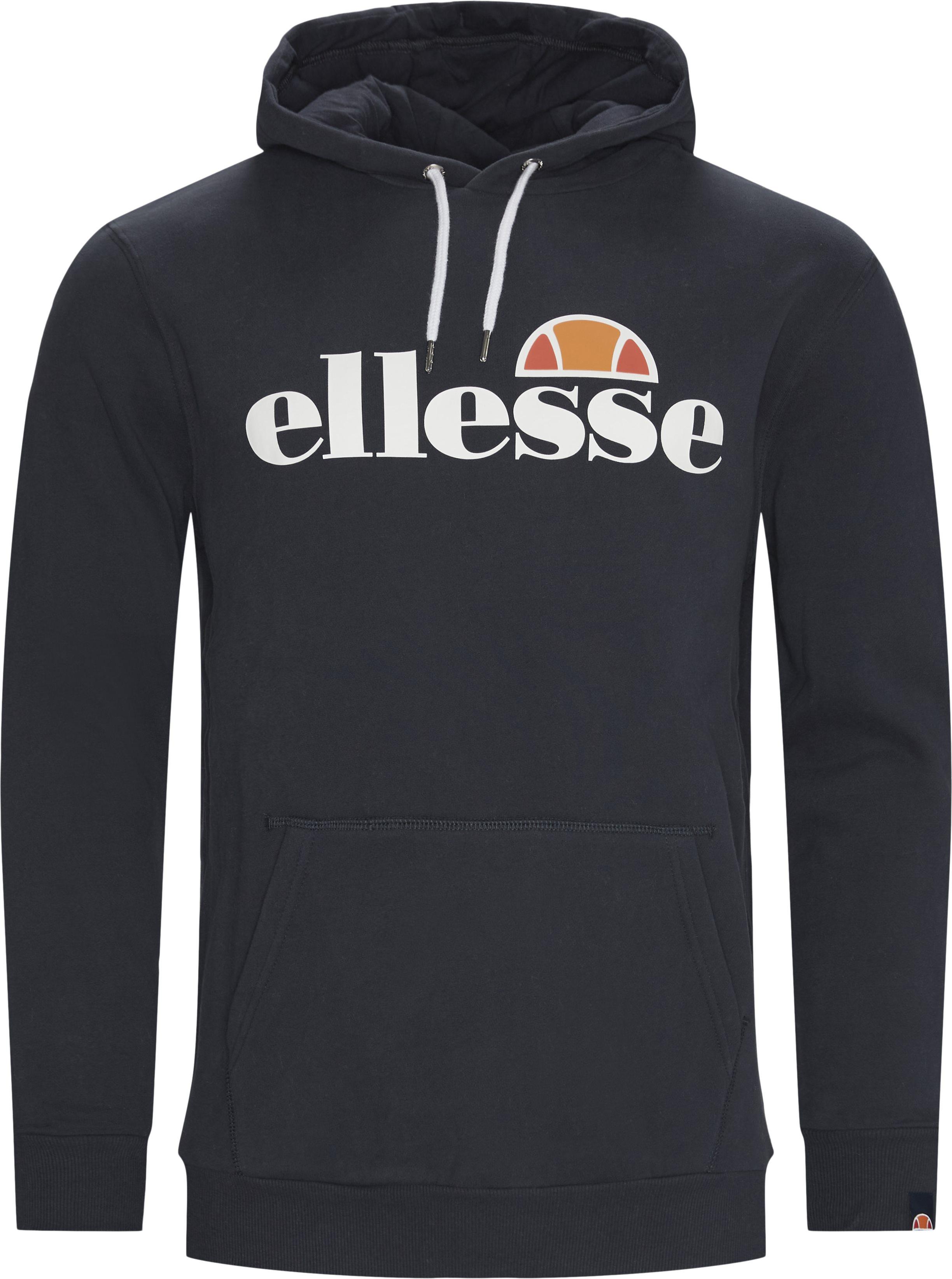 Gottero Hoody Sweatshirt - Sweatshirts - Regular - Blå