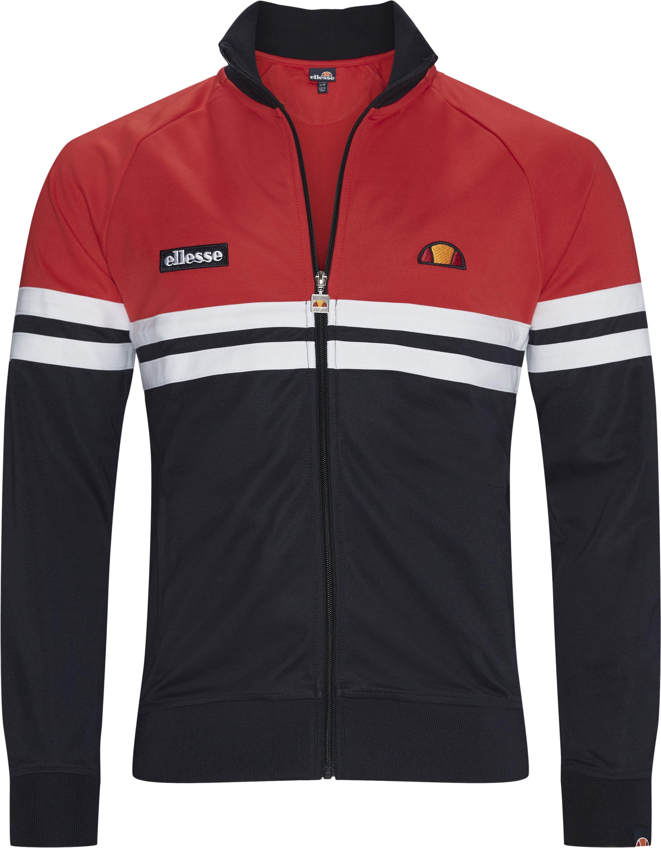 Rimini Track Top Sweatshirt  - Sweatshirts - Regular - Blå
