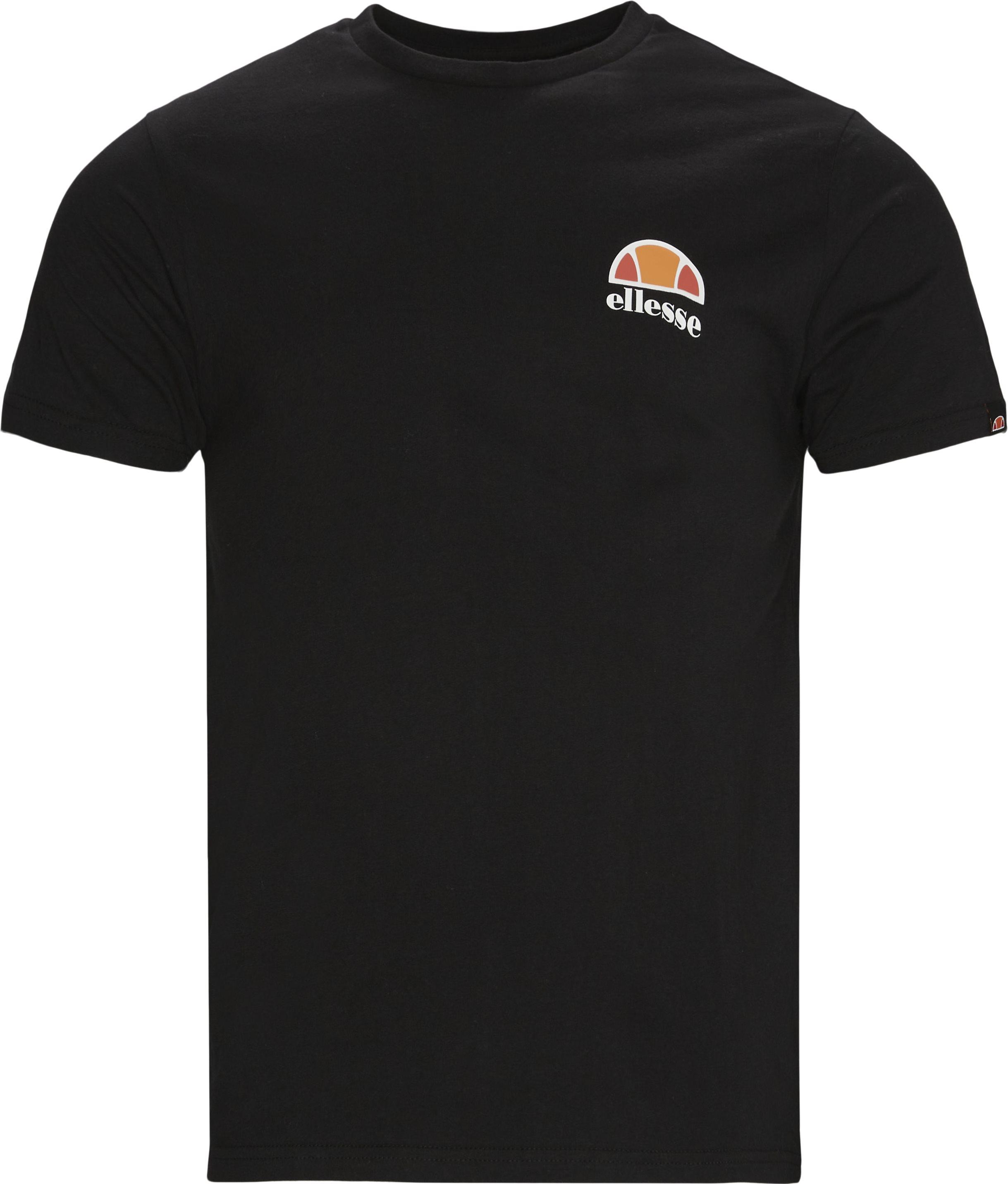 Canaletto T-shirt - T-shirts - Regular - Sort